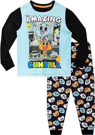 The Amazing World of Gumball Pijamas de Manga Larga para niños
