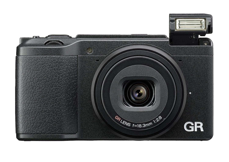 Ricoh GR II Digital Camera with 3-Inch LCD (Black)