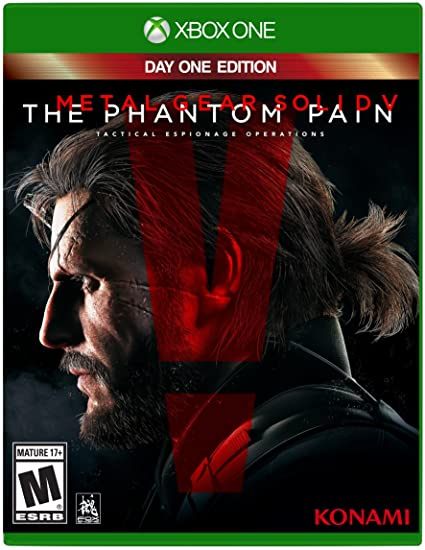 Edition Metal 1 Phantom Gear Solid PainDay VThe Xbox One UMSzVp