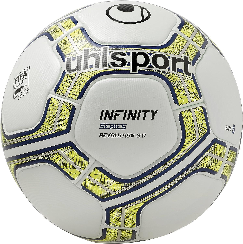 Uhlsport Infinity Revolution 3.0 Balones de Fútbol, Unisex, Blanco ...