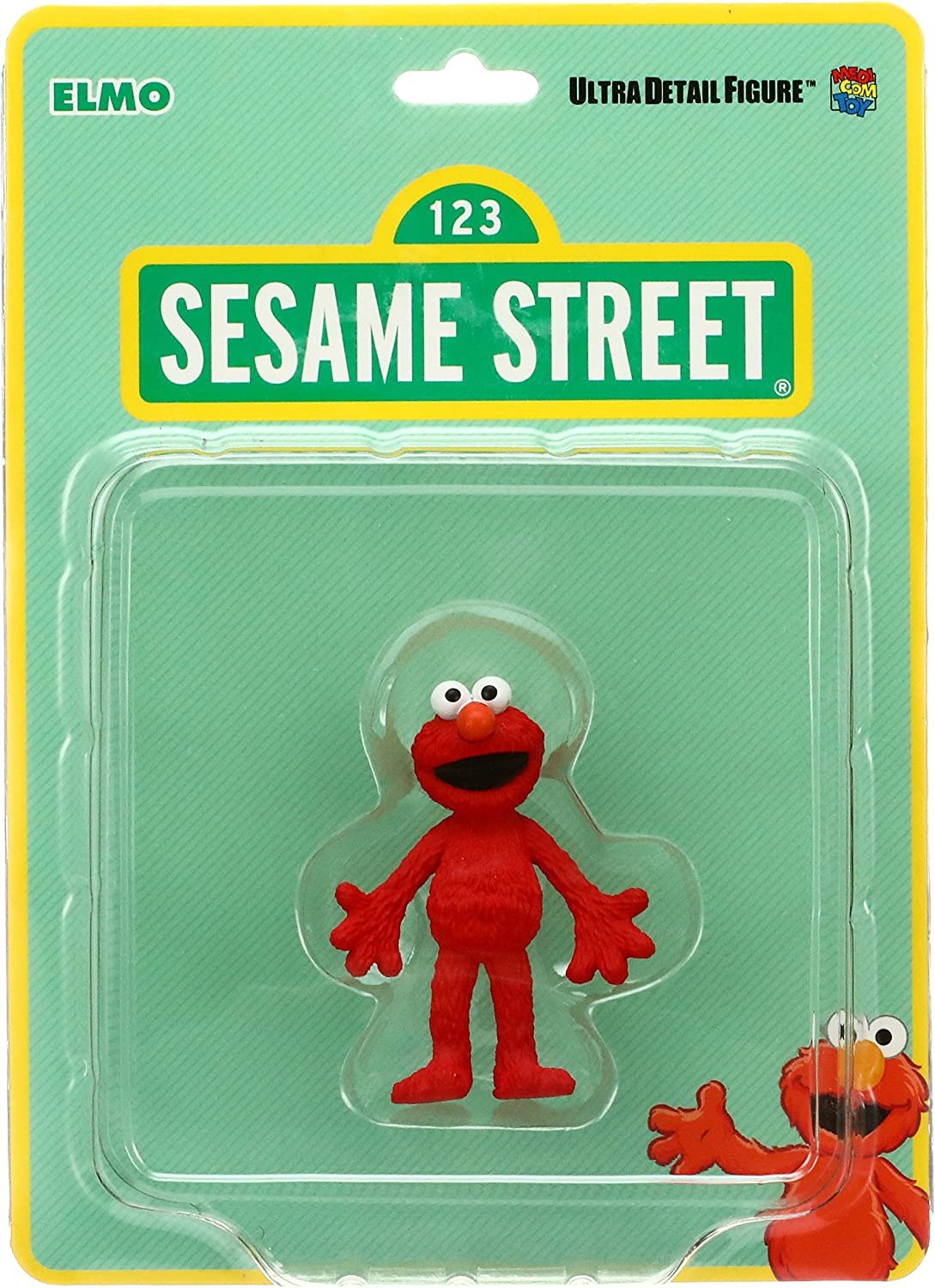 MEDICOM TOY Muppets SESAME STREET ELMO Ultra Detail Figure NEW