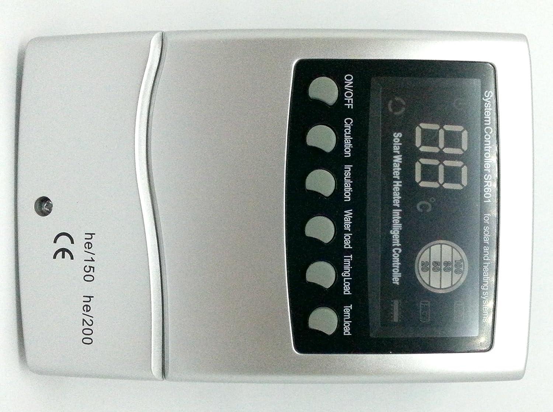 CENTRALITA para panel solar térmico para el control del agua caliente Control: Amazon.es: Hogar