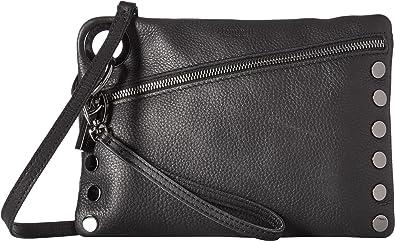 Hammitt Women s Nash Black Gunmetal One Size  Handbags  Amazon.com e285bd600cdde