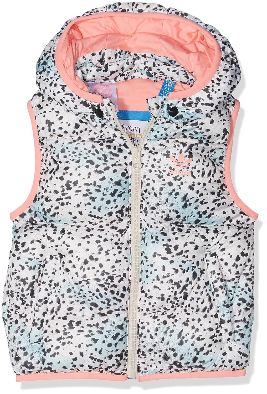 adidas Kinder Baby Ywf G Weste Multicolor/Ray Pink 92 ADIEY|#adidas AY8550