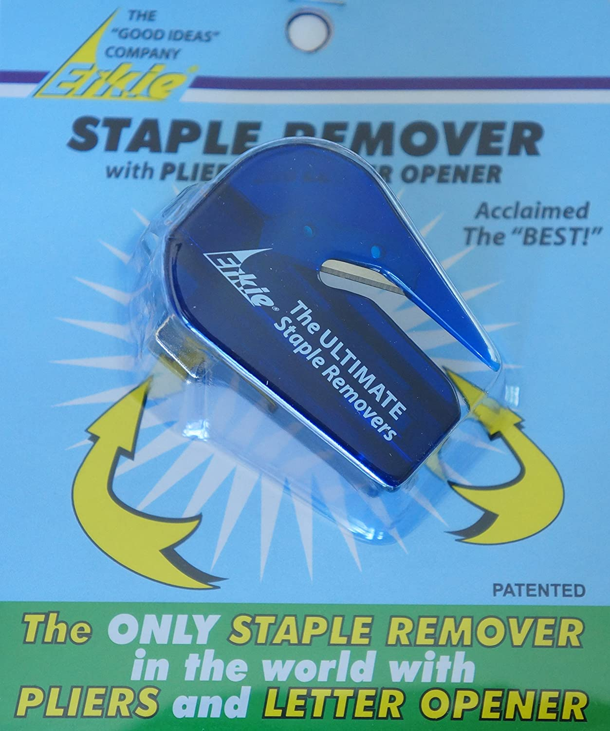 the ultimate erkie e staple remover with pliers and letter opener the only one in the