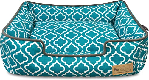 P.L.A.Y. Pet Lifestyle And You P.L.A.Y. – Moroccan Lounge Bed – Small – Teal
