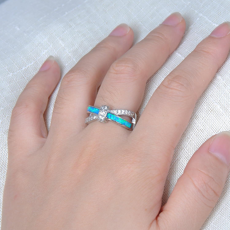 Amazon.com: Bamos Jewelry Womens X Cross Gift Promise Engagement ...