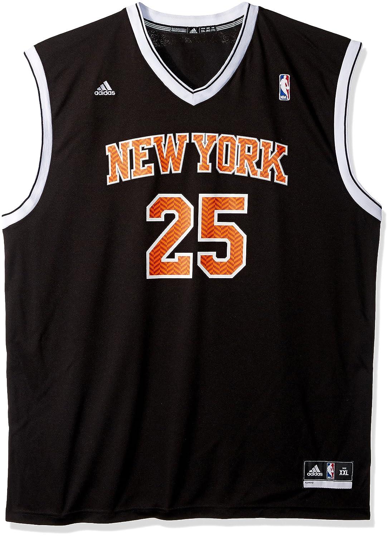 e4fce14da Buy NBA New York Knicks Derrick Rose  25 Chevron Fashion Replica Jersey