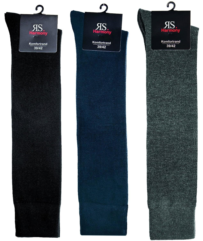 socksPur Lot de 3/luxe Mi-Bas pour homme et femme.
