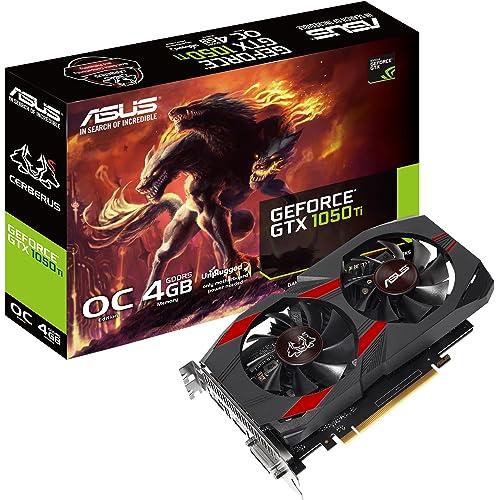 ASUS Cerberus GeForce GTX 1050 Ti 4GB OC Edition GDDR5