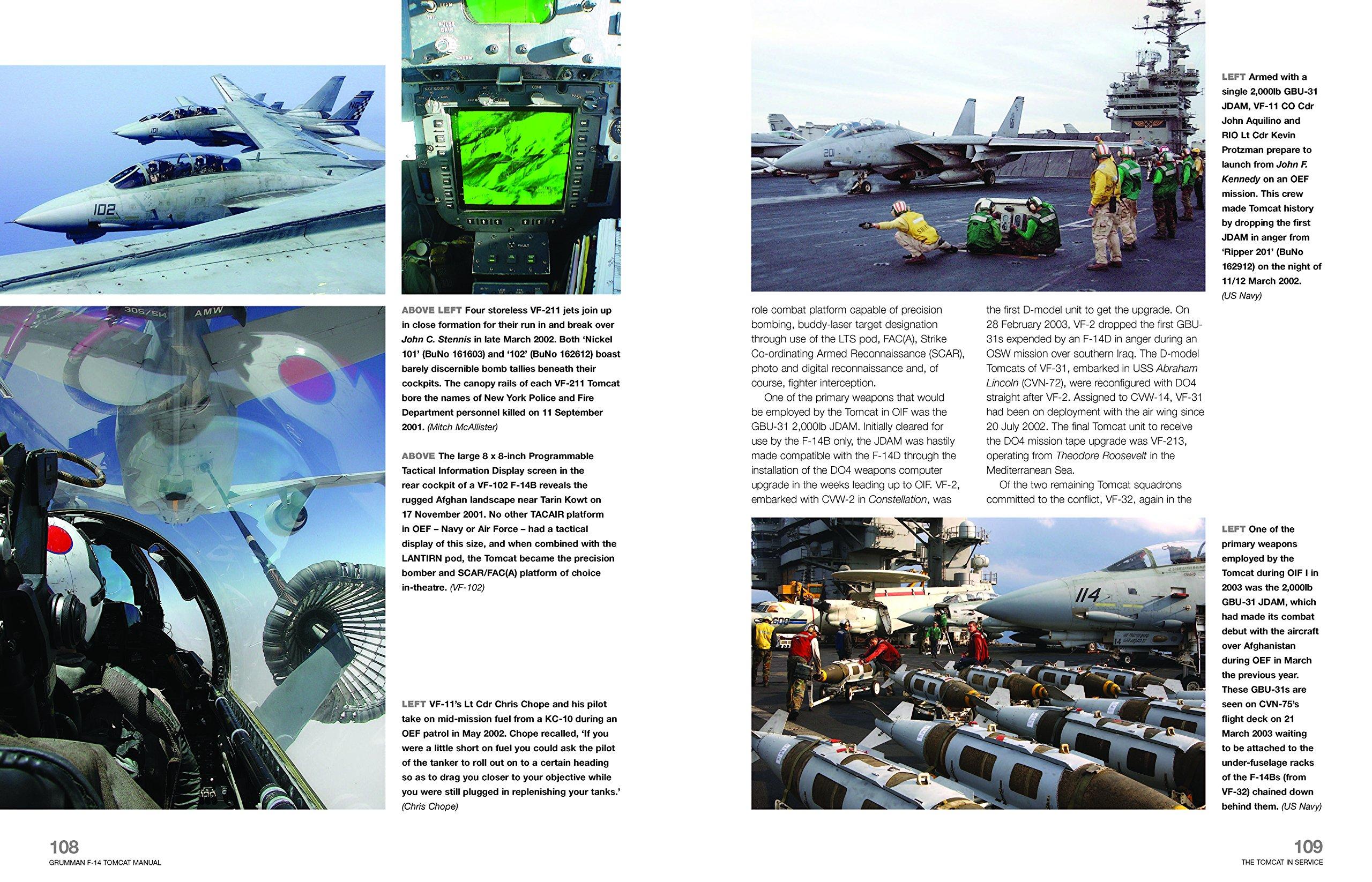 069d28c2fa Grumman F14 Tomcat 1970-2006 (Owners  Workshop Manual)  Amazon.co.uk  Tony  Holmes  9781785211003  Books