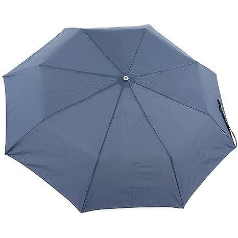 Samsonite Alu Drop Safe Auto O/C Paraguas 3, Color Azul Índigo