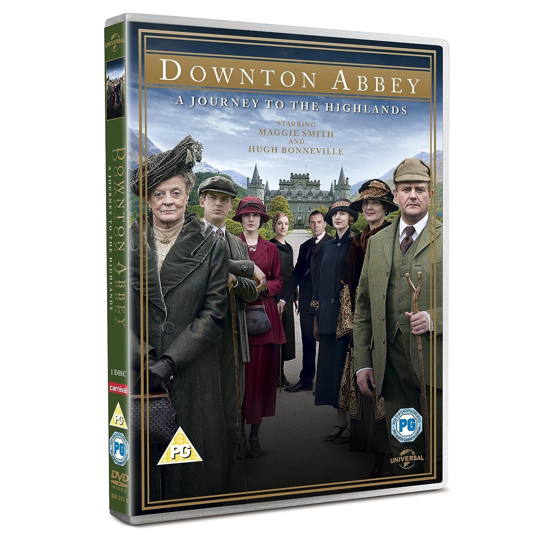 Downton Abbey: A Journey to the Highlands Christmas Special 2012 DVD: Amazon.co.uk: Hugh Bonneville, Maggie Smith, Michelle Dockery, Dan Stevens: DVD & Blu- ...