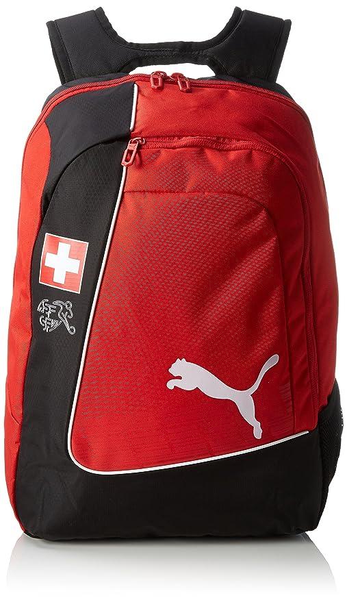 Puma Backpack Mochila Country de Licencia Oficial Rojo Red/White/Swiss Talla:34