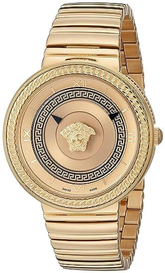 Versace VLC090014 - Reloj de Pulsera Mujer, Color Oro