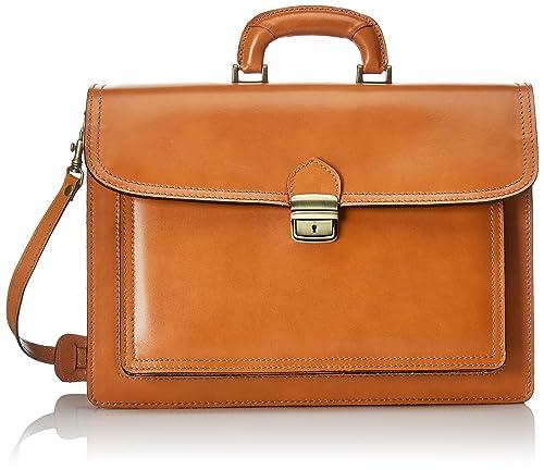 ed6e171989 Chicca Borse 7008 Borsa Organizer Portatutto, 41 cm, Cuoio: Amazon.it:  Scarpe e borse