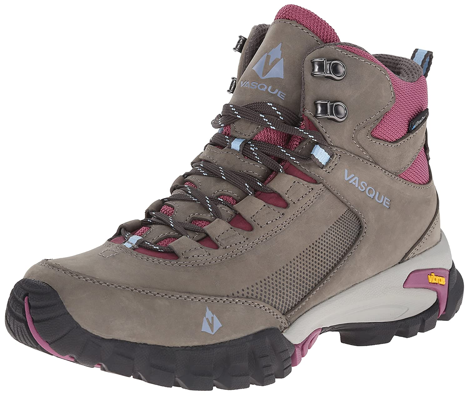 Vasque Women's Talus Trek UltraDry Hiking Boot B00TYJYBOE 10.5 B(M) US|Gargoyle/Damson