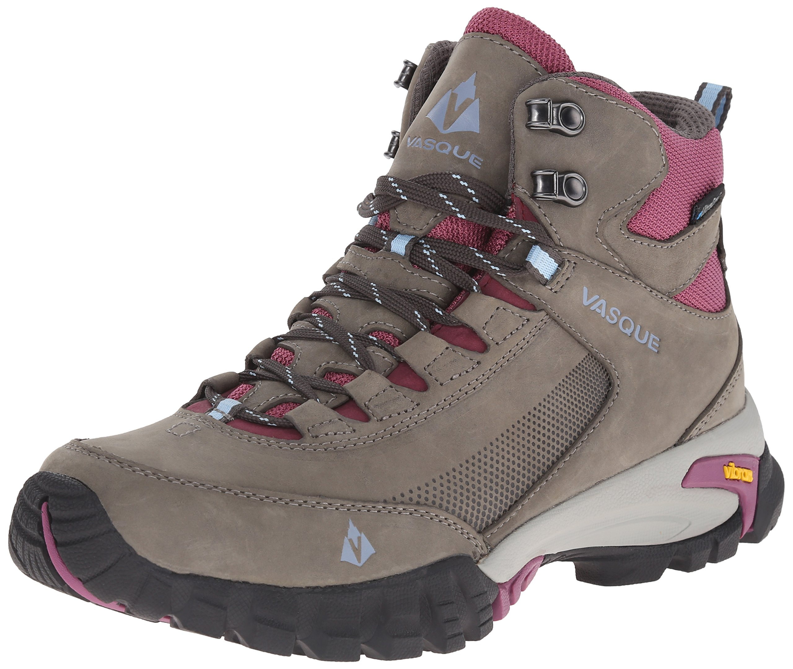 Vasque Women's Talus Trek UltraDry Hiking Boot, Gargoyle/Damson, 8.5 M US by Vasque