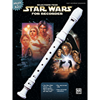Selections from Star Wars® for Recorder (Music Is Fun) book cover