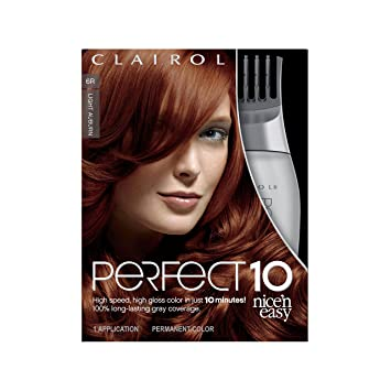 Amazon Com Clairol Perfect 10 By Nice N Easy Hair Color Kit 1