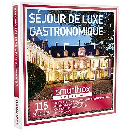 Smartbox – Caja Regalo – estar Gourmet de Luxe – 110 séjours: Hoteles de lujo