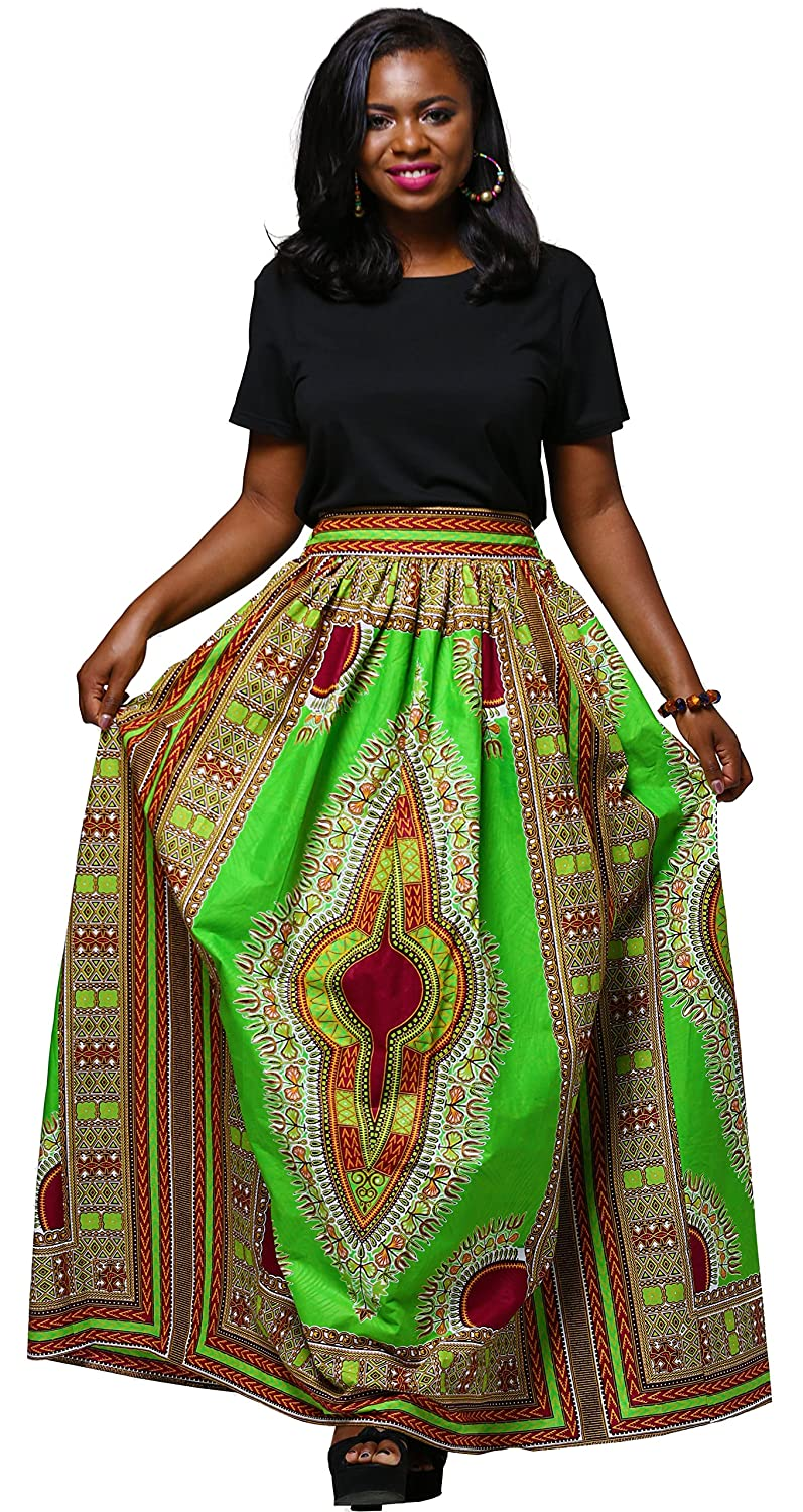 91e728f296 ... Ankara Print Skirt Dashiki Long Skirts. Wholesale Price:23.88 - $32.88.  Handmade: Handcrafted by experienced garment workers, made of 100% African  wax ...