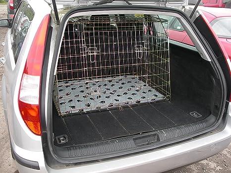 Ford Mondeo est 03 - 56 Reg inclinado coche perro Jaula para viaje ...