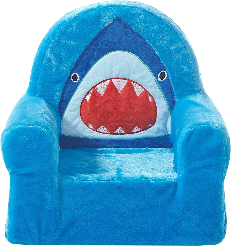 Blue Heritage Kids Shark Figural Dec Pillow