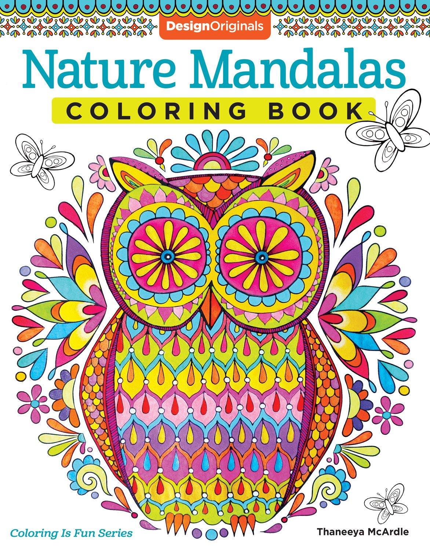 Free spirit coloring book by thaneeya mcardle coloring books by - Nature Mandalas Coloring Book Design Originals Thaneeya Mcardle 9781574219579 Amazon Com Books