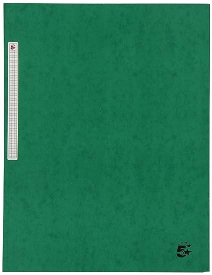 5 Star 400071445 - Carpeta de gomas con solapa, A4, color verde