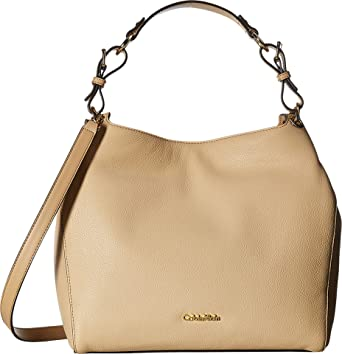 Amazon.com  Calvin Klein Women s Classic Pebble Shopper Nude One ... bcaf2eeab6b5e