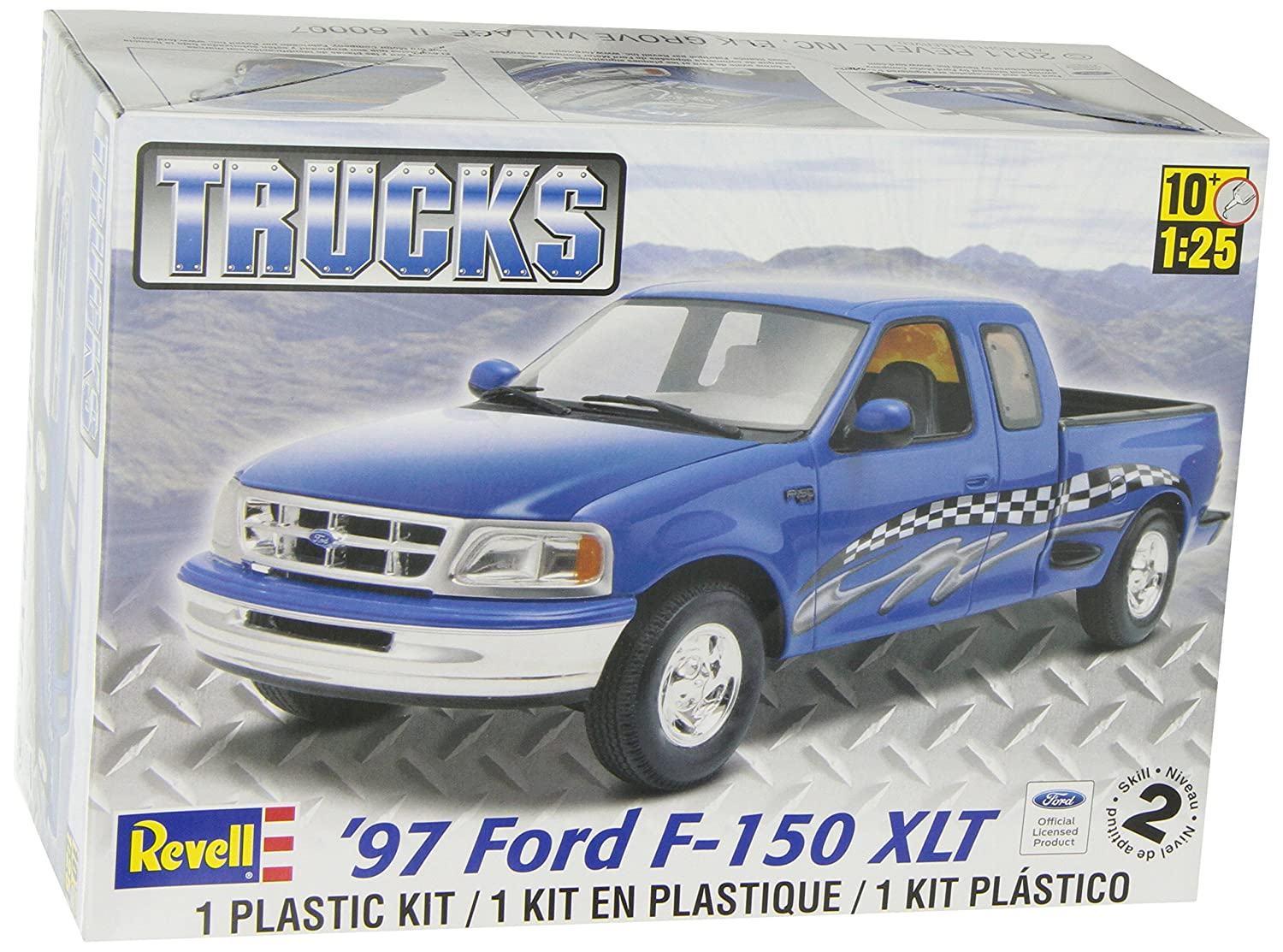 Amazon com revell 97 ford f 150 xlt toys games