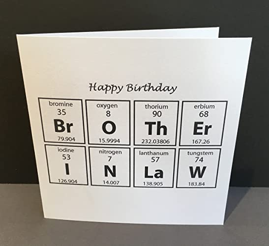 Birthday Card For A Brother In Law