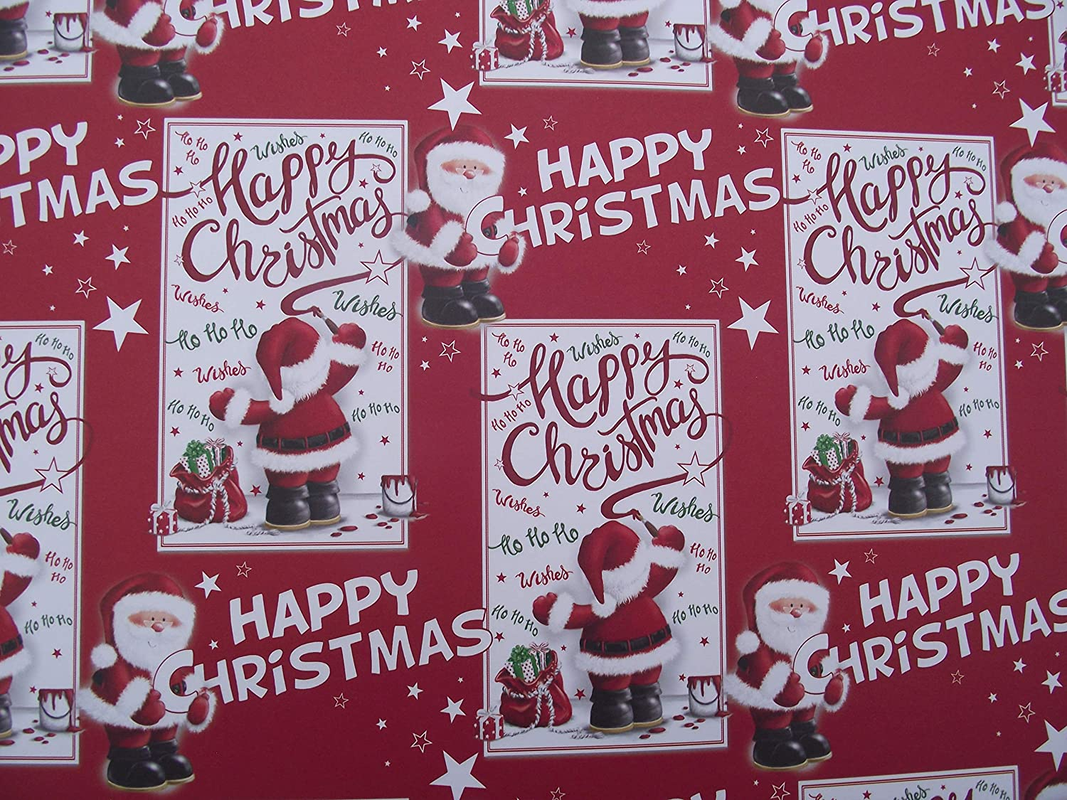 20 Sheets of Childrens Christmas Wrapping Paper