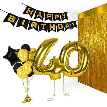 Amazon Com 40th Birthday Metallic Decorations Ideas Gifts For Women