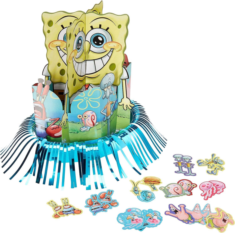 Amazon.com: Present Time Silly – Bob Esponja Party Kit para ...