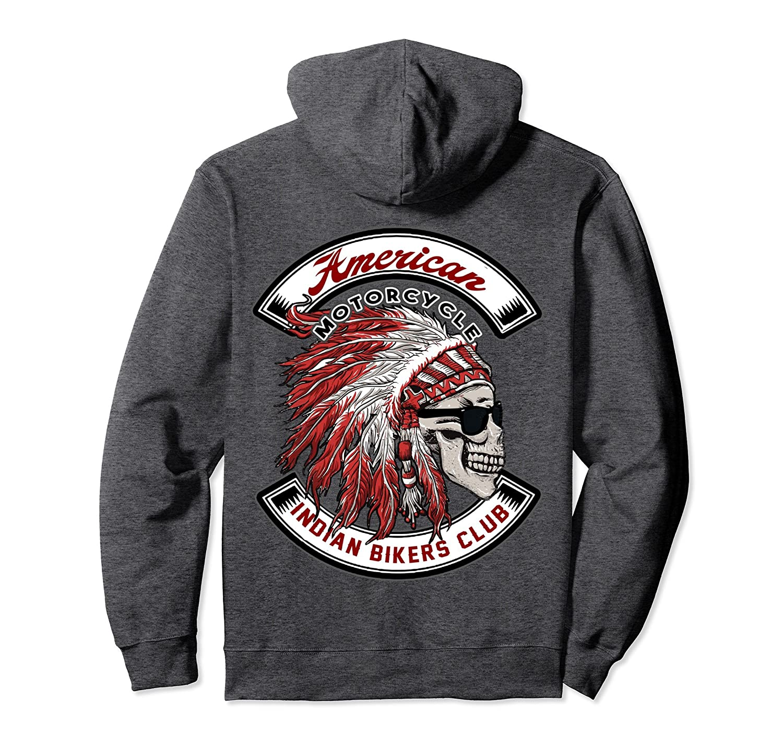 American Motorcycle Indian Bikers Club Hoodie-prm