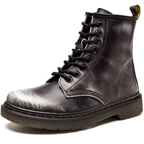 f2aa7932b89 Jack Shibo Mujer Hombre clásico Botines Botas Boots Invierno Caliente  Forrado Invierno Botas de Nieve Botas de Invierno Guantes, Color Gris, ...