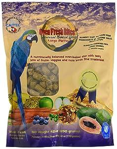 Oven Fresh Bites Natural Baked Avian Diet, Nutritional, Whole Grain, Large Parrot, 48 Oz. Bag