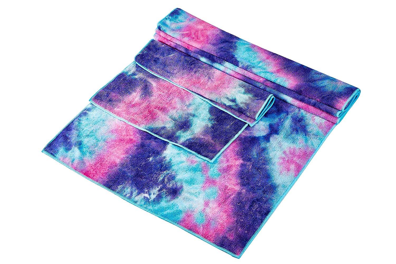 Yoga Towel-Sweat Absorbent 100/% Microfiber Non-Slip Yoga Mat Towel for Hot Yoga and Pilate Super Soft