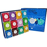 English Tea Shop Organic Holiday Blue Baubles Tray (Pack of 96 Tea Bags)