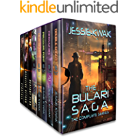 The Bulari Saga: The Complete Series (8 books): Sci-Fi Crime Thrillers