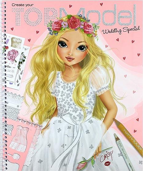 Depesche 6597 001 Topmodel Malbuch Create Your Wedding Amazon