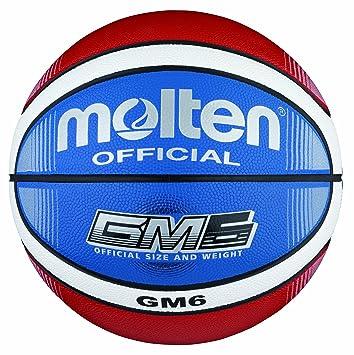 Molten Bgmx6 C Ballon De Basket Rouge Blanc Bleu Taille 6