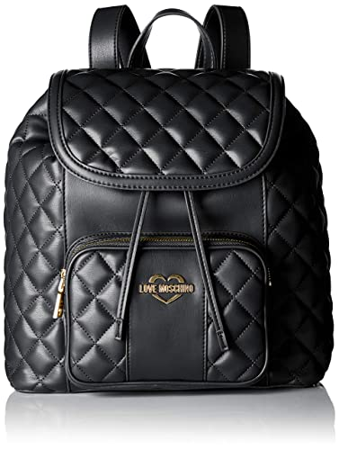 Love Moschino Women s Borsa Quilted Nappa Pu Backpack Handbag 762ec1acf3be0