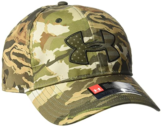 1d69169c5e3 Amazon.com  Under Armour Men s Camo Big Flag Logo Cap