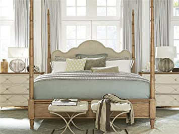 french modern maison california king size 4 poster bed