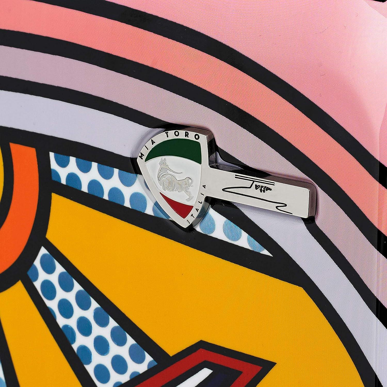 Mia Toro Italy-Jozza Airplane Hardside Spinner Carry-on