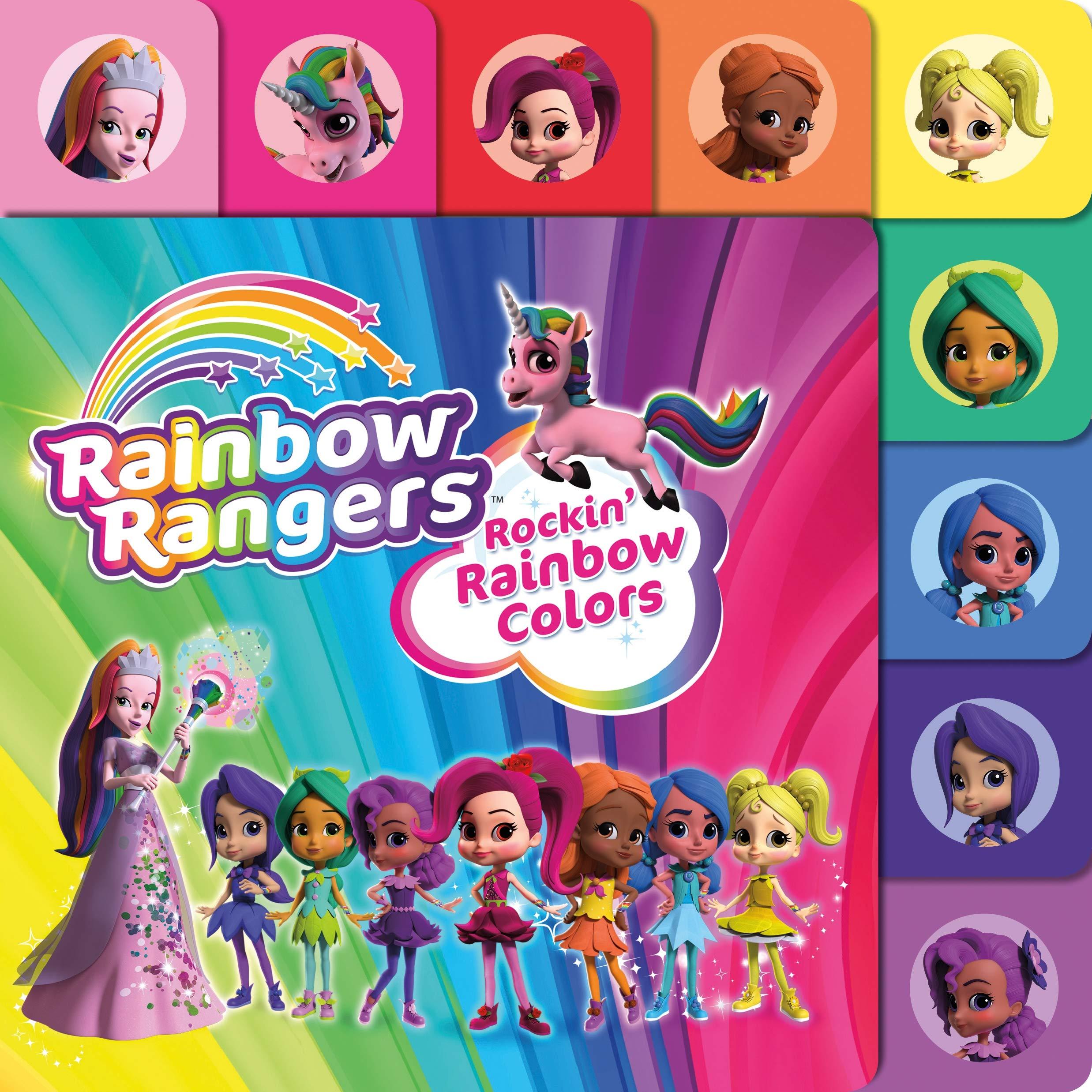 Amazon Com Rainbow Rangers Rockin Rainbow Colors 9781250190345 Greene Summer Books