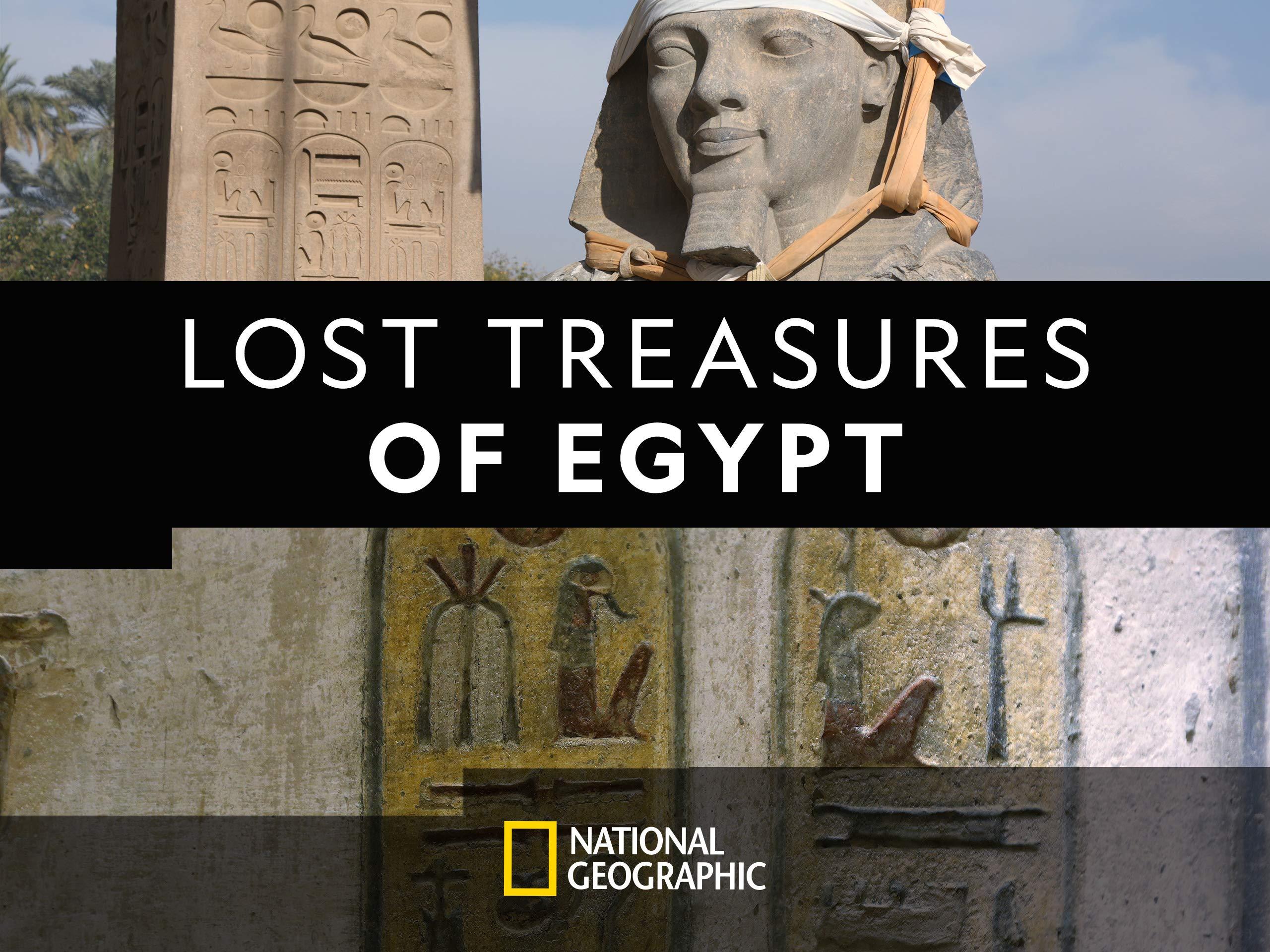 Watch Lost Treasures Of Egypt Season 1 Prime Video
